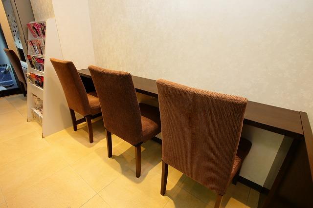 エルデンタルクリニック(矯正歯科)の待合室