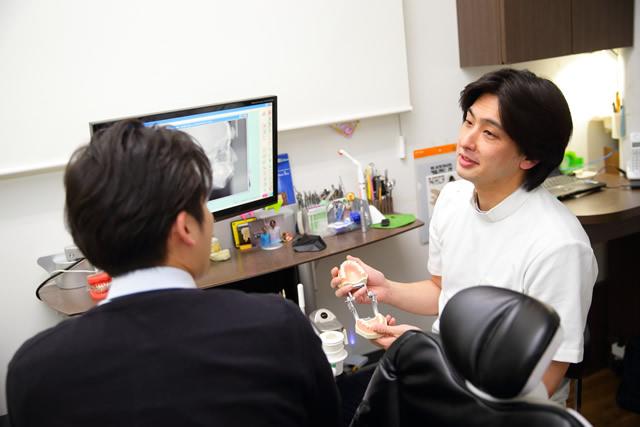 矯正歯科医による治療方針のご説明